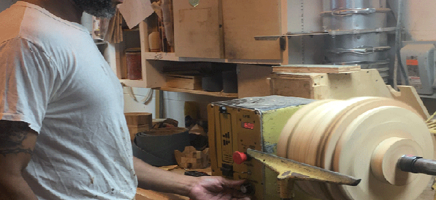 inmate woodworking